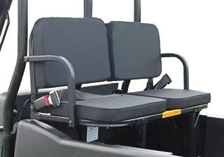 Polaris Ranger Xp 1000 2017 UTV Rumble (Rear) Seat- Rear Black UTV Bed Seat by Great Day
