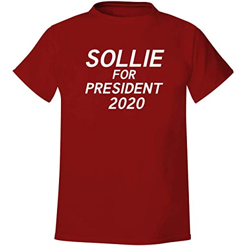 Sollie For President 2020 - Men's Soft & Comfortable T-Shirt, Red, XX-Large