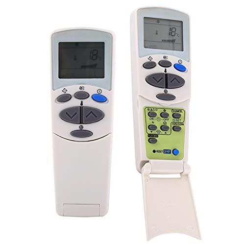 Telecomando per condizionatore d'aria, telecomando sostitutivo, per telecomando LG 6711A90032L, schermo LCD, nessuna programmazione o impostazione richiesta, adatto per condizionatore d'aria LG