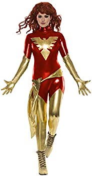 Rubie s womens Marvel X-Men  Dark Phoenix Costume As Shown Large US