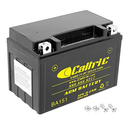 Caltric Agm Battery Compatible With Honda Vt1300Cx Vt-1300Cx Vt1300Cxa Fury 1300 Abs 2010-2016
