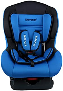 baby plus Baby Car Seat and Carrycot, 82 x 41 x 44 cm - Blue/Black
