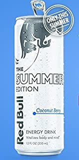 Red Bull Energy Drink Summer Edition - Coconut Berry, 12fl.oz. (Pack of 8)