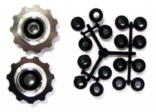 Shimano Schaltwerk-Leitrollen Set Alu, Shimano kompatibel - Radsport Komponenten & Teile