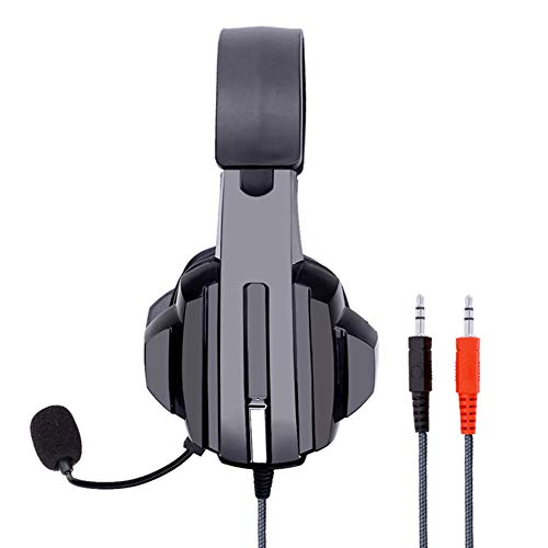 GAOword Computer Headset Headset Gaming Headset Internet Cafe Gaming Headset with Packaging Lightweight And Comfortable Suitable for Work & Music