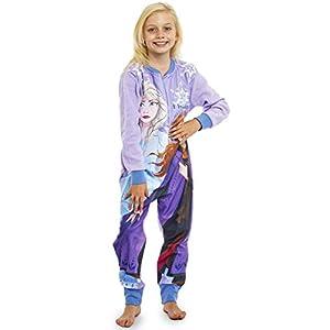 Disney Frozen Pijama Entero para Niñas De Una Pieza, Ropa Niña Invierno con Anna y Elsa El Reino del Hielo (18-24) Meses…