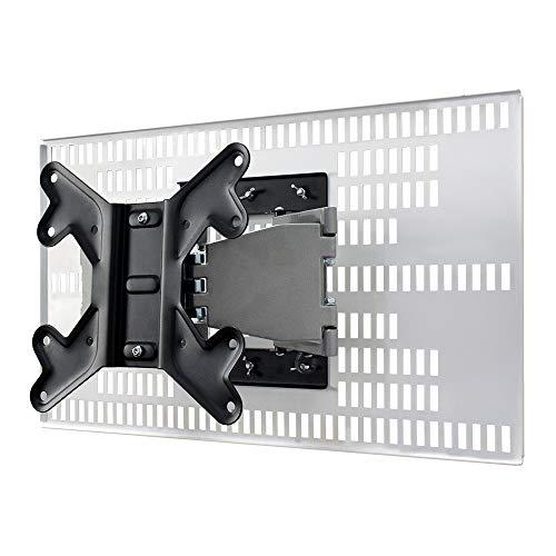 テレビ 壁掛け 金具 STARPLATINUM TVセッター壁美人 ホッチキス止め 23-47インチ対応 FR400 S/Mサイズ ホワイト