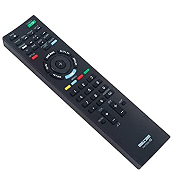 RM-YD061 Replace Remote Control fit for Sony LCD Bravia TV KDL-32EX720 KDL-40EX400 KDL-46EX720 KDL-46NX720 KDL-46X4500 KDL-46XBR KDL-55EX620 KDL-60EX720 KDL-65HX729 Kdl-46ex523 Kdl-40ex723 Kdl-32ex723