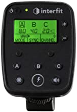 Interfit S1 TTL-N Remote for Nikon w/ Wireless TTL Control of S1/S1a, Supports i-TTL, High Speed Sync (HSS) up to 1/8000 second, 2.4 GHz, Three (3) Control Groups, and Eight (8) Channels