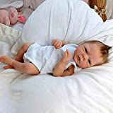 XINAN-US Realistic Reborn Baby Dolls, 18 Inch Lifelike Soft Silicone Vinyl Baby Dolls with Clothes Gift for Kids Age 3+