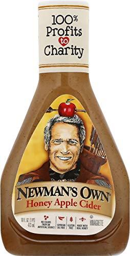 Newman's Own Honey Apple Cider Salad Dressing, 16-oz. (Pack of 6)