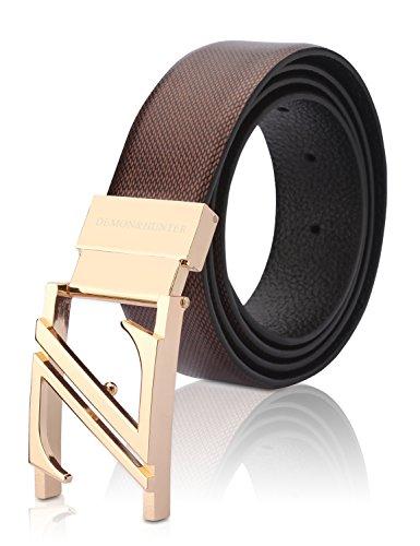 Demon&Hunter Luxury Series Men's Belt H31902(130CM)
