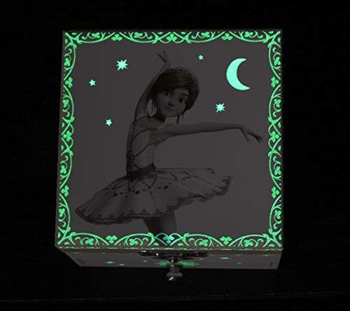 Trousselier, pequeña caja de música con diseño de Ballerina.