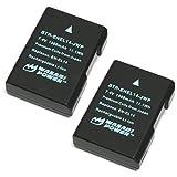 Wasabi Power Battery (2-Pack) for Nikon EN-EL14, EN-EL14a and Nikon Coolpix...