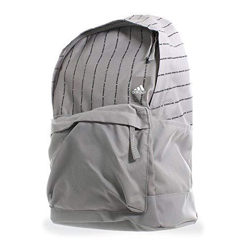 adidas Unisex– Erwachsene Classic Rucksack, grau/weiß, OneSize