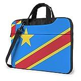 Bandera de Congo Bolsa para computadora portátil Bolsa de Hombro Bolsa de computadora Bolsa de maletín Bolsa de Hombro Inclinada