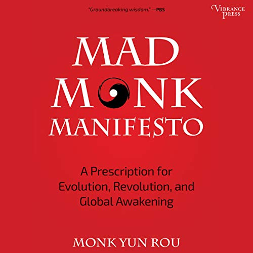 Mad Monk Manifesto audiobook cover art