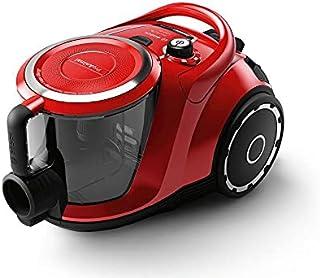 مكنسة بوش الكهربائية مع حاوية بدون كيس - لون احمر طراز BGS412234A