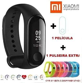Relogio Inteligente Mi Band 3 Xiaomi Global Portugues + Película + Pulseira extra