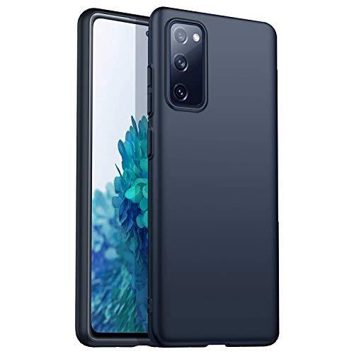 Moben Samsung Galaxy S20FE 5G Matte Black Case Shockproof- Semplice, Elegante e Minimal - Custodia in TPU Resistente ai Graffi Super Leggero e Sottile. Just What You Need.