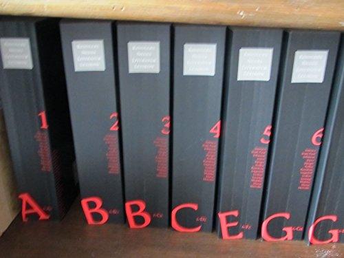 KINDLERS NEUES LITERATURLEXIKON - STUDIENAUSGABE, 21 Bände (vollständig). ISBN: 3-463-43200-5.