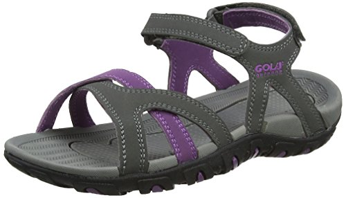 Gola Cedar, Chaussures de Fitness Femme, Gris (Grey/Purple), 40 EU