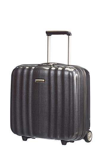 Samsonite Lite-Cube - 15.6 Zoll Laptoptasche mit Rollen, 43 cm, 28.5 L, Grau (Graphite)