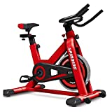 WJFXJQ Ciclismo, Spin Bike, Bicicleta estacionaria Bicicleta estática, Bicicletas de Interior Entrenador físico aeróbico, Equipo de Entrenamiento estacionaria