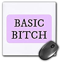3dRose Mouse Pad Image of Basic Bitch - 8 by 8-Inches (mp_309668_1) [並行輸入品]