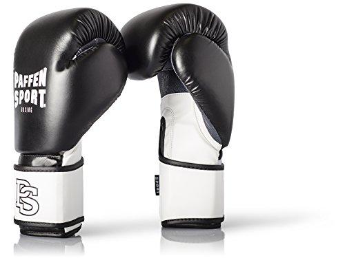 Paffen Sport FIT Boxhandschuhe für das Training; schwarz/weiß; 12UZ