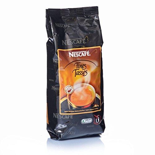 Nestlé NESCAFÉ Fines Tasses Füllprodukt Getränke Automaten löslicher Bohnenkaffee, 3 KG