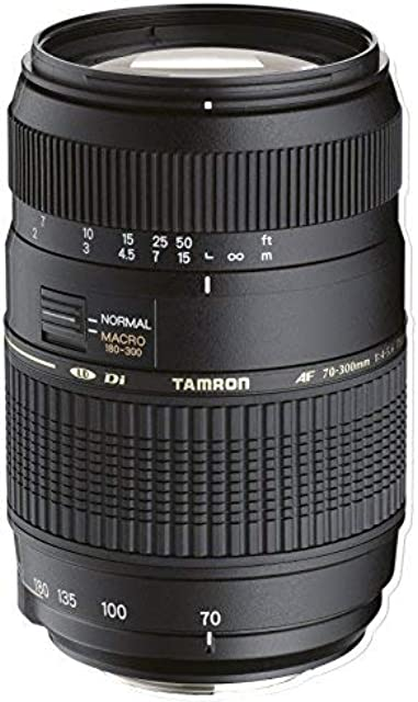 Tamron 70-300mm Di LD - Objetivo para Sony (70-300mm f/4-5.6 Macro 62mm) color negro