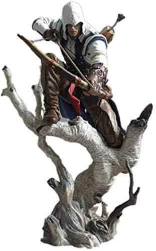 ZHTY Assassin'S Creed Connor Movible Figura Modelo Película Anime Arquetipo Modelo Adornos de Juguete Estatua de Regalo Muñeca Anime Song