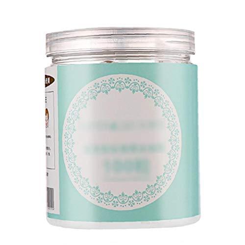Canned Druckmaske Hautpflege DIY Compressed-Schablonen-Maske Behandlung Whitening Compressed Gesichtsmaske Makeup Natürliche Masque Skin Treatment 100 PC-Maske