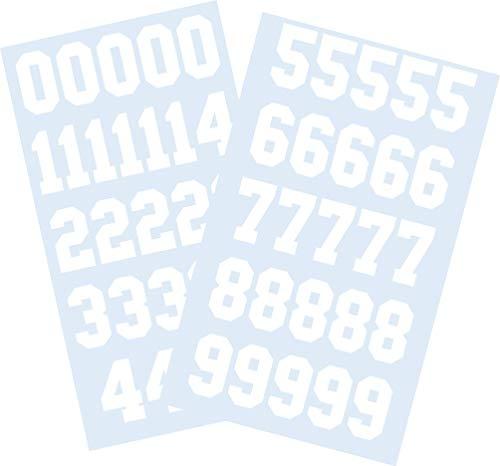 hockey helmet numbers - 2