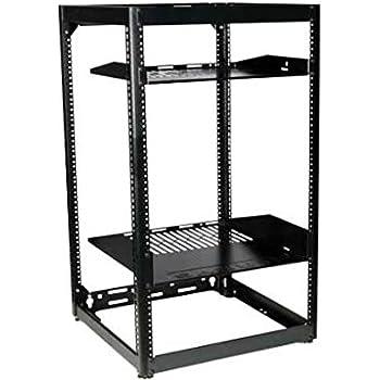 NEW Sanus Systems 15U Stackable Skeleton Rack #CFR1615-B1