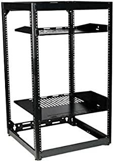 Sanus CFR1620-B1 Component Series 20U Stackable Skeleton Rack (35