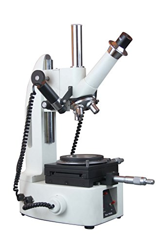 Radical 10x-30x-50x Toolmakers Precise Linear Angle Measuring Microscope w Camera Port