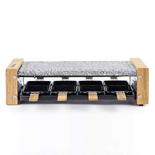H.KOENIG WOD8 Raclette-apparaat, 8 personen, hout