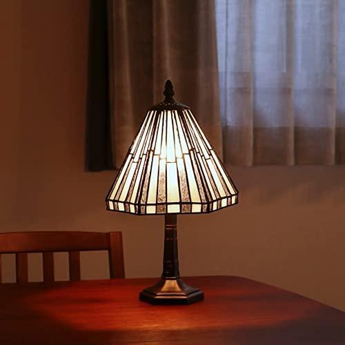 専用LED対応電球付 ステンドグラスランプ スタンド おしゃれ 小型 テーブルランプ アンティーク ステンドランプ ステンドガラス 大正ロマン