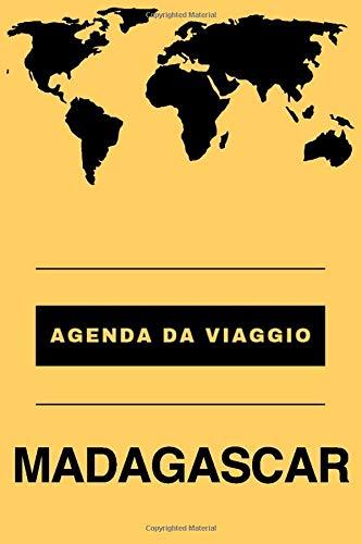 Agenda da viaggio Madagascar: Diario | Taccuino per scrivere se stessi | Regalo perfetto per ogni viaggiatore