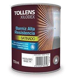 TOLLENS - BARNIZ ALTA RESISTENCIA AL AGUA SATINADO INTERIOR 250 ML - Iroko de Tanzania 513