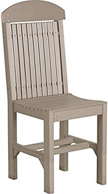 Amazon.com: Furniture Acacia Wood Side Chairs with Slatted ...