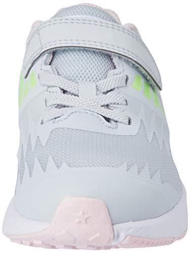Nike Star Runner (PSV), Zapatillas de Atletismo Niñas, Multicolor (Pure Platinum/Metallic Silver/Lime Blast 005), 31 EU