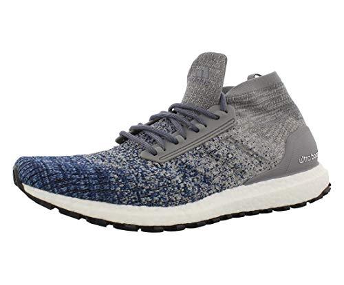 adidas Men's Ultraboost All Terrain, Grey Heather/Grey/Noble Indigo, 8 M US