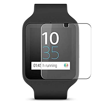 Puccy 4 Pack Screen Protector Film compatible with SONY SmartWatch 3 SWR50 TPU Guard ( Not Tempered Glass Protectors )
