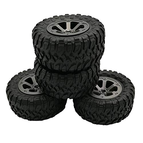 PRENKIN Replacement For 1/16 WPL B14 C24 Truck RC Car rubber tire vehicle...
