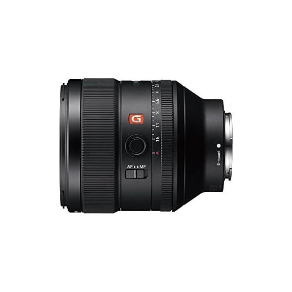 RetinaPix Sony SEL85F14GM E Mount - Full Frame 85mm F1.4 G Master Lens (Black)