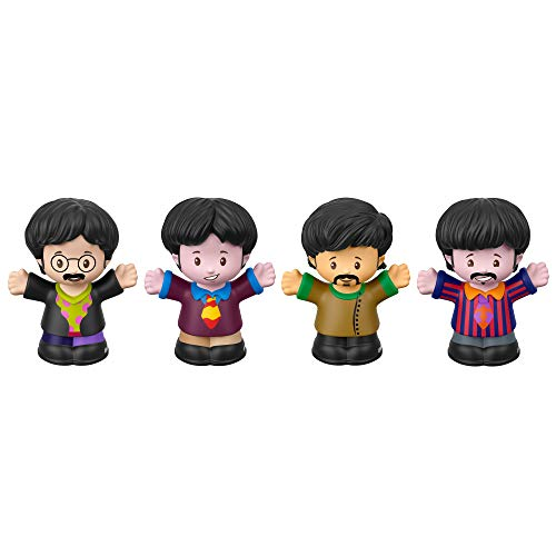 Fisher-Price The Beatles Yellow Submarine by Little People, Figure 4-Pack
