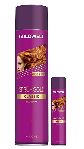 GOLDWELL Sprühgold Haarspray - 600ml + 100ml